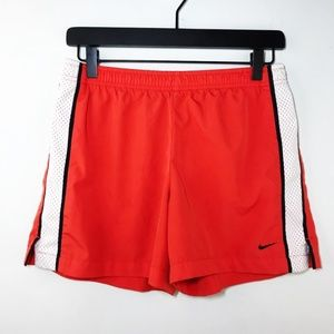 Nike Shorts Red White Running Size Small
